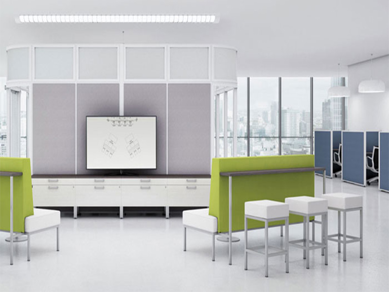 desks boulevard tables conference meeting personal individual privacy office soft seating lounge functional customize advance clean workplace solution masof globalcontract