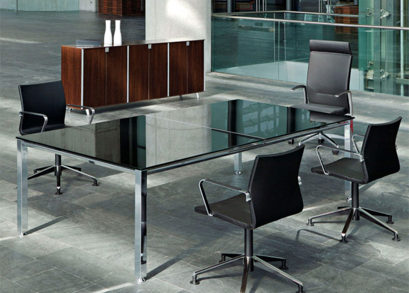 desk twist tables glass conference kados chair black cubic cabinets storage technology executive adaptable contemporary office meeting closeness efficent optimization masof actiu